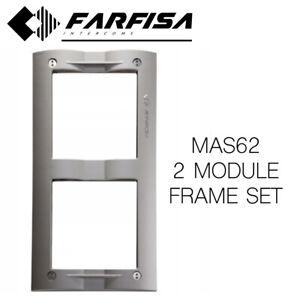 FARFISA MAS62 DOOR ENTRY 2 MODULE FRON FRAME ANTI-VANDAL
