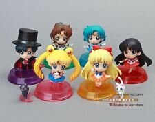SAILOR MOON - SET 6 FIGURAS PVC 5cm / 6 PVC FIGURES SET 2""