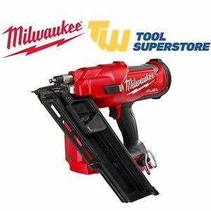 Milwaukee M18FFN-0 FUEL Framing Nailer Nail Gun Angled First Fix Body Only