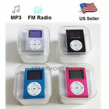 Mp3 Music Player With Digital Lcd Screen Mini Clip Support 32Gb MicroSd Fm Radio