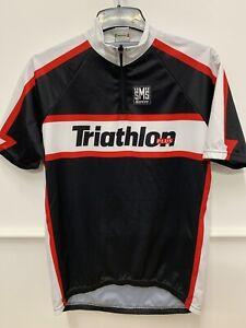 Santini Triathlon Plus Cycling Jersey Xl Bnwt