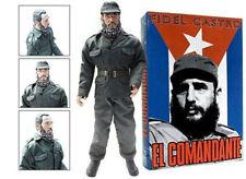 "Fidel Castro ""EL COMANDANTE"" CUBA 12"" ACTION FIGURE DOLL in Military Uniform"