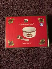 A Christmas Story Susan Winget Porcelain 2 Piece Dip Set