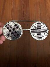 591c5f8de7 Vintage Retro Flip Up Sunglasses Unisex Round Metal