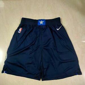 Hot sale NEW Dallas Mavericks Men's Basketball Shorts Dark blue Size:S-XXL