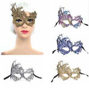 Lace Mask Halloween Dress Up Masquerade Fancy Dress Venetian Costume 8 Colours