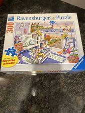 """RAVENSBURGER LARGE FORMAT 300 piece PUZZLE """"Seaside Sunshine"""""""