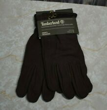 NWT Timberland Men's Goat Leather Gloves Touchscreen Tips Men's Large Brown New