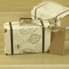 Packing With Rope Mini Party Candy Boxes Gift Boxes Trunk Shaped 3Pcs Wedding