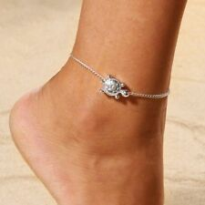 Chain Silver Animal Foot Bracelets- 2018 Beach Turtle Barefoot Sandals Anklet