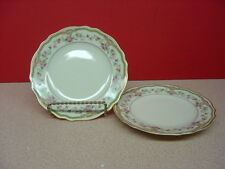 """Franconia/Krautheim China AIDA Two Bread and Butter Plates 6 1/8"""""""