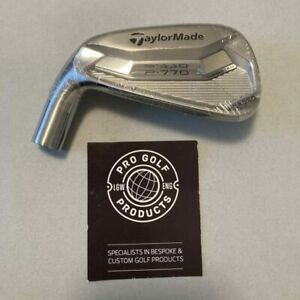 Left Handed TaylorMade P770 Forged No 7 Fitting Cart Iron, 2° up(Head Only)