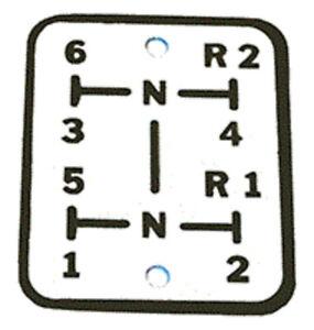 White Pattern Plate-shift New 102682N