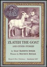 Zlateh the Goat and Other Stories, Isaac Bashevis Singer, Good Condition, Book