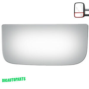 Towing Mirror Glass for Chevy Blazer Silverado Driver Left Side LH Lower Replace