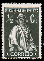 Portugal #208 MHR CV$8.00 (Chalky Paper) Ceres