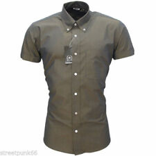 Regular Size Short Sleeve Casual Shirts & Tops for Men's 60s