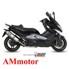 Scarico Completo Mivv Yamaha T-Max 500 2008 08 Terminale Speed Edge Moto Scooter