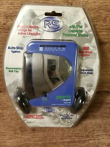 Walkman Portable Cassette Player RS GPX Sports C3204RS - Purple & Black NEW