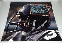 Vintage 1980 1981 ABC MONDAY NIGHT FOOTBALL CALENDAR FRANCO HARRIS
