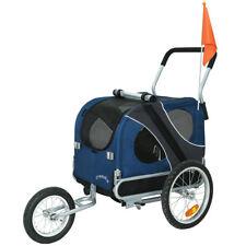 DOGGYHUT Remorque pour chien moyen avec kit de joggeur Remorque de vélo