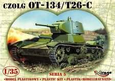 T 26 C / OT 134 - WW II SOVIET TANK 1/35 MIRAGE !VERY RARE!