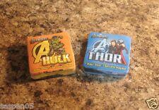 Marvel The Avengers Thor and Hulk Magic Towel Washcloth Set of 2