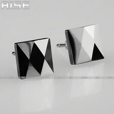 New Gift Mens & Womens Tungsten Carbide Square Stud Earrings C8