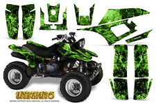 YAMAHA WARRIOR 350 GRAPHICS KIT CREATORX DECALS STICKERS INFERNO G