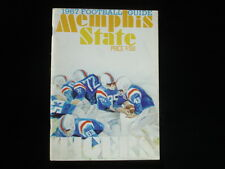 1967 Memphis State Tigers Football Official Media Guide EX+