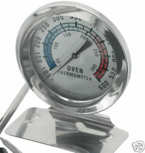 JUDGE Stainless Steel Oven Thermometer. Perfect for Baking Cakes/Pies/Flans.TC65