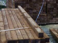 wooden post 100mm x 100mm x 2.4m tanilised  fencing (4x4x8foot)