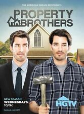 Property Brothers poster 24in x 36in