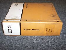 Case 1550 Bulldozer Dozer Crawler Tractor Workshop Shop Service Repair Manual