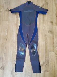 O'Neill Taucheranzug Kinder Jungen Alter 14 UK Blau/Grau Kurz Arm / Lang Beine