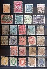 AUTRICHE ANCIEN LOT TIMBRES OBLITERES 88M90