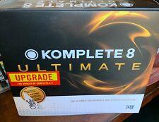 Native Instruments Komplete 8 ULTIMATE box hard drive manual