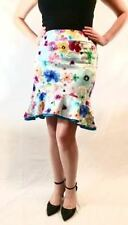 Above Knee Cotton Blend Hand-wash Only Mini Skirts for Women