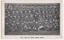 The Lads of The Kent Brass Band Postcard, B590