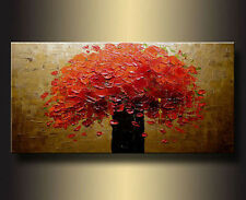 Art Repro Modern Abstract oil painting:Tree In canvas 24x32 Inch