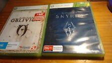 Elder Scrolls: Oblivion & Skyrim (XBOX 360) PAL / AUS