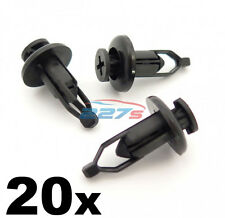 20x 9mm Front & Rear Plastic Bumper Clips- Identical to Toyota Lexus 90467-09143