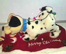 """Disney Store 101 Dalmations Collectible 1996 Christmas Puppy Animated 10"""" x 17"""""""