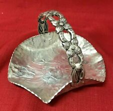 Hand Wrought Creations By Rodney Kent Aluminum Candy Dish