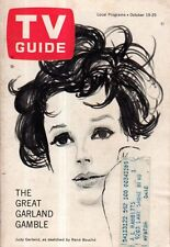 1963 TV Guide October 19 - Judy Garland; Tim Conway; Mickey Mouse Club alumnae