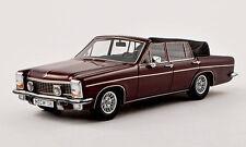 wonderful modelcar OPEL DIPLOMAT B FISSORE CONVERTIBLE 1971 - darkred- 1/43