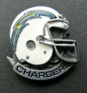 SAN DIEGO CHARGERS HELMET NFL FOOTBALL LAPEL PIN BADGE 1 INCH