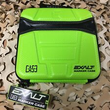 New Exalt Paintball Gun Marker Case w/ Accessory/Barrel Storage - Lime Green