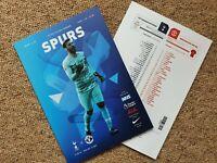 Tottenham Spurs v Manchester United LIMITED PROGRAMME 19/6/20! FREE UK POSTAGE!!