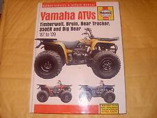 Haynes Yamaha ATVs 87 To 09 Service & Repair Manual - As Photo